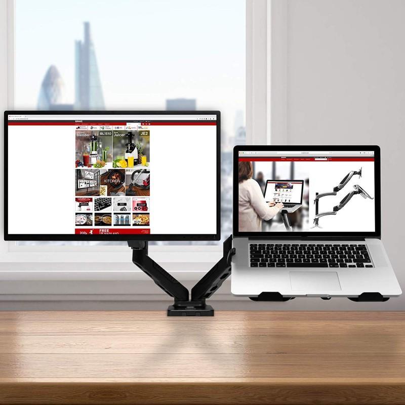 DMDCL1X1 модел на држач за монитор и лаптоп